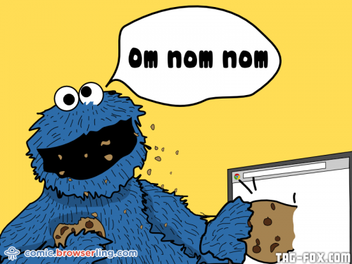 Before the Internet, Cookie Monster was the only way to get rid of cookies.  For more nerd humor and geek humor visit our programming comic at https://comic.browserling.com. New jokes, cartoons and comics about programmers every week!