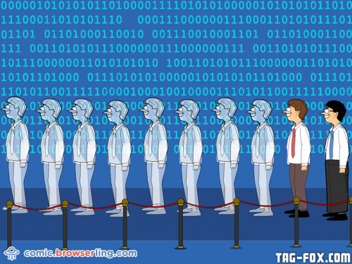There are only 10 types of people in the world: Those who understand binary, and those who don't.  For more nerd humor and geek humor visit our programming comic at https://comic.browserling.com. New jokes, cartoons and comics about programmers every week!