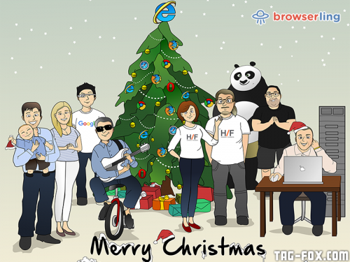 Merry browserful Christmas and Happy browserful New Year 2017!  For more nerd humor and geek humor visit our programming comic at https://comic.browserling.com. New jokes, cartoons and comics about programmers every week!