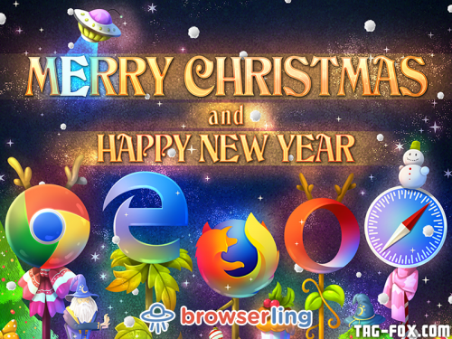 Merry browsery Christmas and Happy browsery New Year from all the browsers, browserify mage, and browser-kind.  For more nerd humor and geek humor visit our programming comic at https://comic.browserling.com. New jokes, cartoons and comics about programmers every week!
