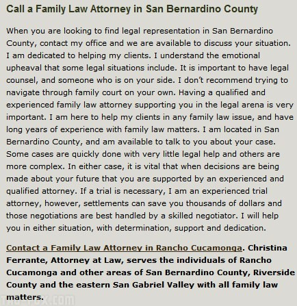 Christina Ferrante Attorney At Law